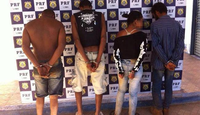 PRF prende quadrilha de estelionatários após tentativa de fuga no oeste da Bahia - Foto: Divulgação   DP