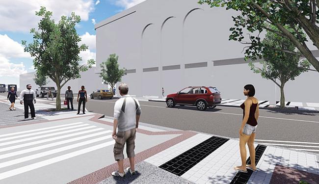 Projeto para Centro de Salvador prevê ampliação de passeio e pavimentação feita em pedra portuguesa - Foto: Divulgação l Agecom-PMS