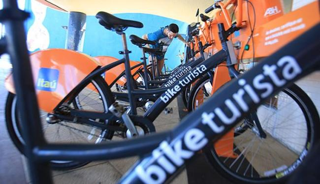 Bicicletas destinadas a turistas na capital - Foto: Joá Souza l Ag. A TARDE