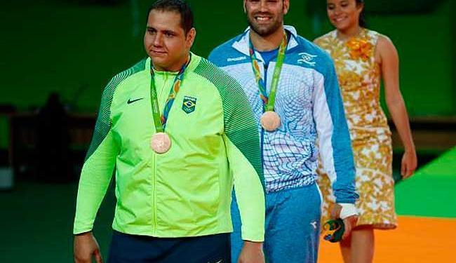 Rafael Silva é o tipo de atleta que se dedica ao máximo nos treinos - Foto: Fernando Frazão/Agência Brasil