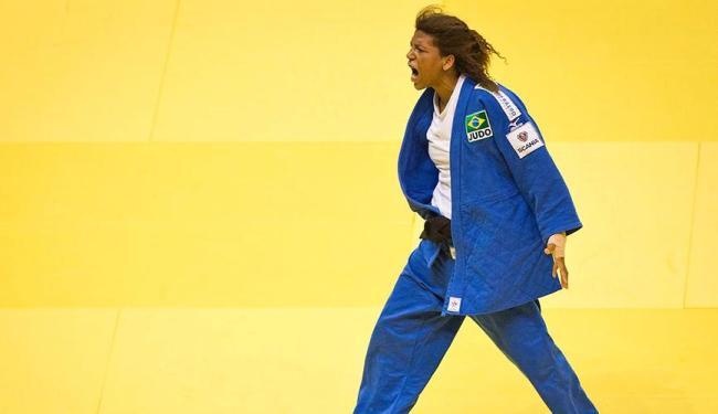 Rafaela, que é do Rio de Janeiro, luta em casa - Foto: Divulgação | Confederação Brasileira de Judô