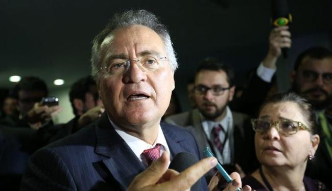 Renan Calheiros disse que vai trabalhar para processo ser votado até o fim do mês - Foto: Fabio Rodrigues Pozzebom | Agência Brasil