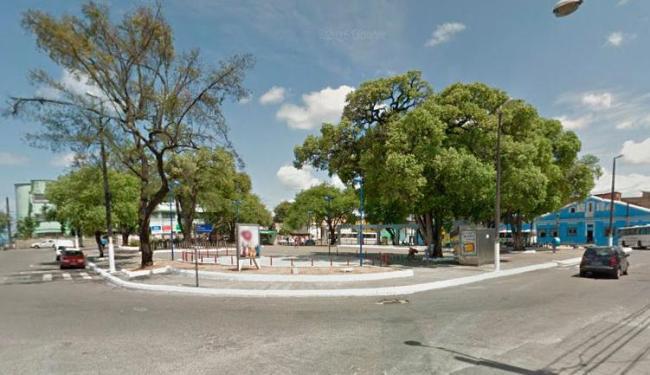 Crime aconteceu no Largo da Madragoa, na Ribeira - Foto: Reprodução | Google Maps