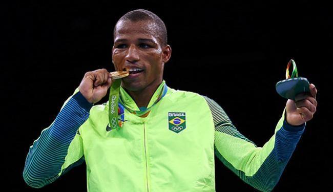 Robson Conceição conquistou o terceiro ouro do Brasil na Olimpíada do Rio - Foto: Peter Cziborra l Reuters