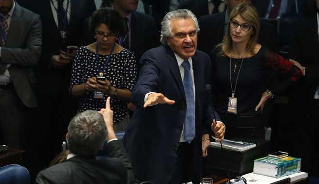 Caiado foi protagonista dos principais estranhamentos nos primeiros dias do julgamento - Foto: ANDRÉ DUSEK/ESTADÃO CONTEÚDO