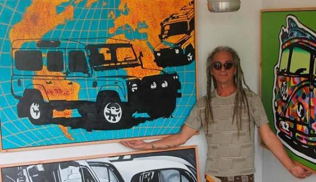 O artista plástico Ruy Santana idealizou o projeto - Foto: Luciana Rocha | Divulgação