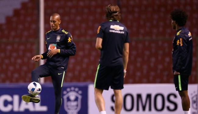 Miranda disse que se sente honrado de ser capitão da Seleção - Foto: Lucas Figueiredo | CBF