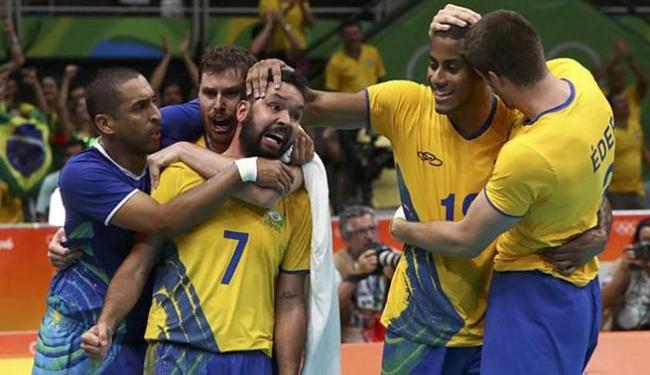 Brasil enfrentará a Rússia por uma vaga na disputa da medalha de ouro - Foto: Yves Herman l Reuters