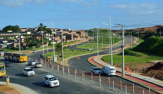 A obra integra a futura avenida 29 de Março, que liga a BR-324 a avenida Orlando Gomes - Foto: Lucas Pondé   Ascom Conder
