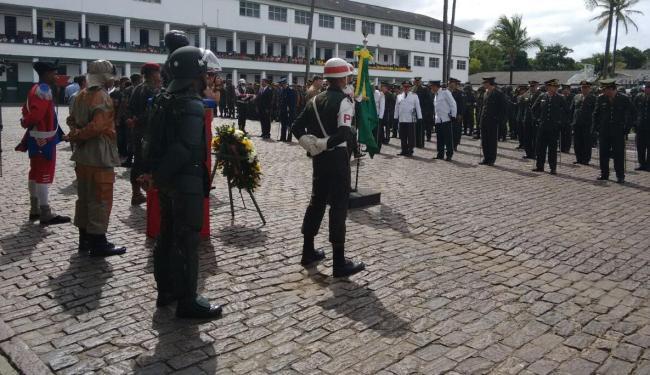 Evento aconteceu no 19º Batalhão de Caçadores, no Cabula - Foto: Edilson Lima | Ag. A TARDE