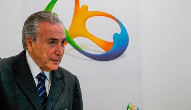 Michel Temer durante reunião de Balanço dos Jogos Olímpicos Rio 2016 - Foto: Beto Barata | PR