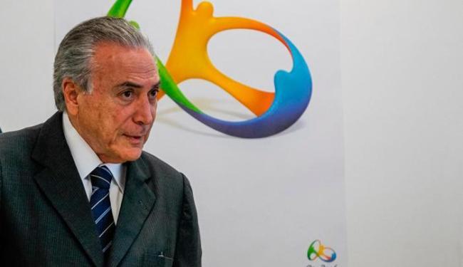 O presidente afirmou que os atletas olímpicos contribuíram para estimular a união do país - Foto: Beto Barata   PR