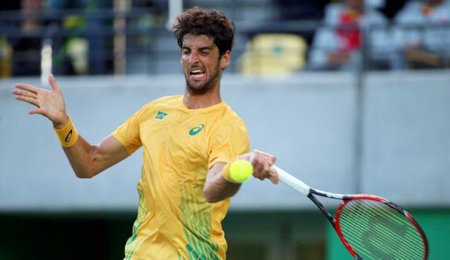 Bellucci igualou melhor campanha do Brasil em Olimpíadas - Foto: Kevin Lamarque   Reuters