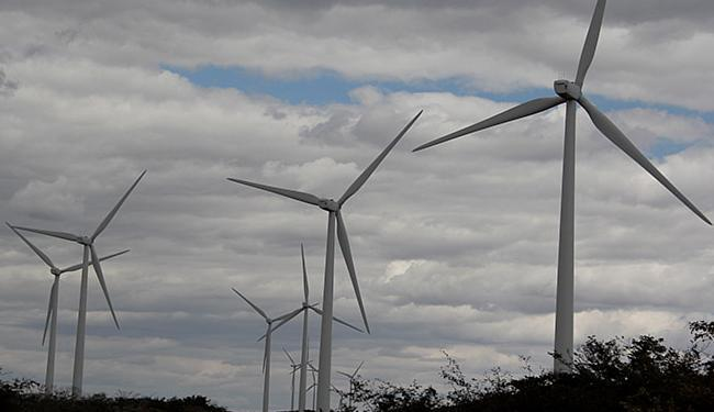 A Bahia cadastrou 240 projetos eólicos - Foto: Joá Souza l Ag. A TARDE l 05.08.2014