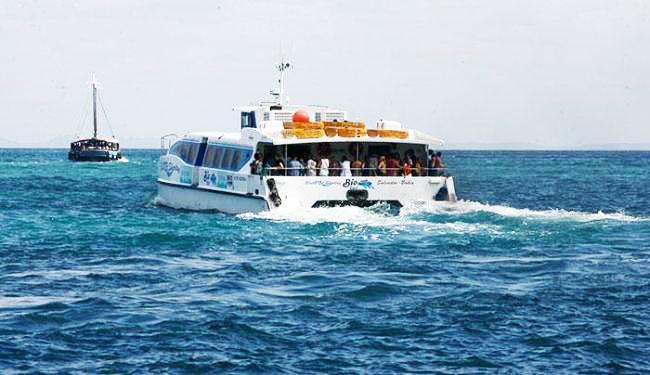Os catamarãs estão fazendo conexão na Ilha de Itaparica - Foto: Fernando Amorim | Ag. A TARDE