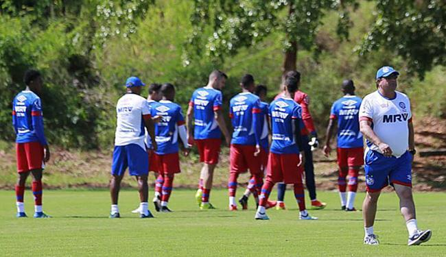 Segundo estatística, Esquadrão precisará somar 38 pontos no returno para garantir o acesso - Foto: Felipe Oliveira l Ag. A TARDE