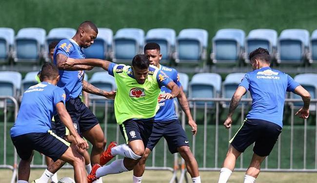 Jogadores da Seleção treinam na Granja Comary para a decisão no Maracanã - Foto: Divulgação l CBF