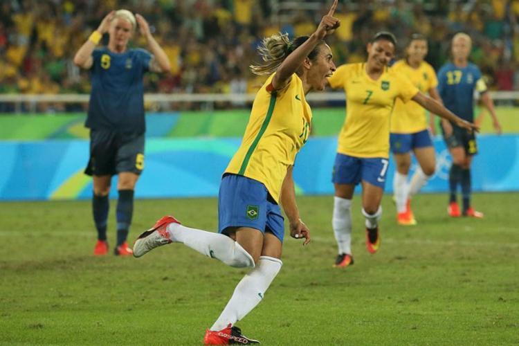 Marta já ganhou o prêmio cinco vezes - Foto: Gonzalo Fuentes | Agência Reuters