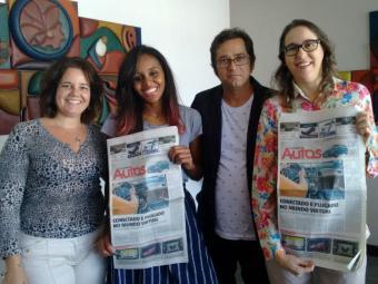 Iloma Sales, Lhays Feliciano, Roberto Nunes e Mariana Carneiro - Foto: Divulgação