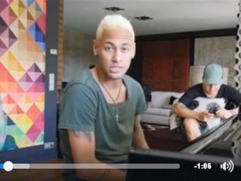 Neymar posta vídeo com a primeira música no Facebook - Foto: Reprodução | Facebook