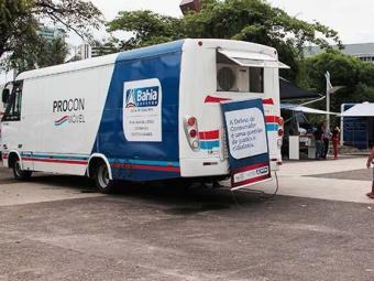 Uma unidade do Procon também estará na ação - Foto: Joá Souza | Ag. A TARDE