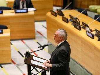 Temer abre abre nesta terça, 20, o pronunciamento dos Chefes de Estado - Foto: Reprodução | Ag Brasil