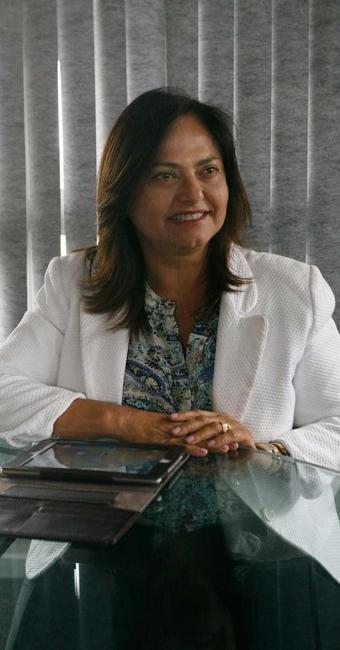 Alice Portugal, candidata do PCdoB à Prefeitura de Salvador - Foto: Edilson Lima | Ag. A TARDE