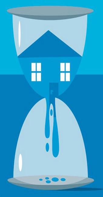 Com o desemprego em alta, receio de que a casa financiada seja leiloada aumenta - Foto: Bruno Aziz l Editoria de Arte A TARDE