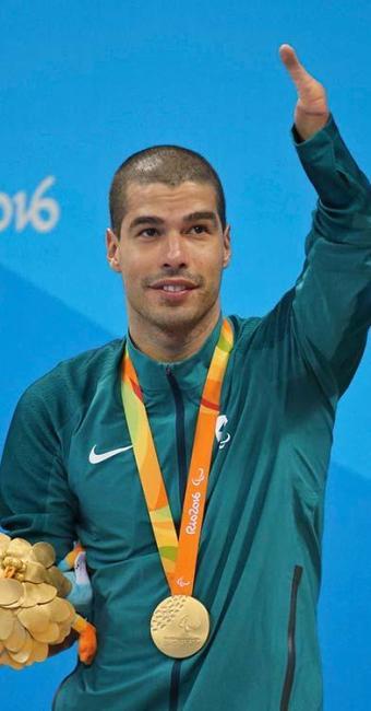 O nadador Daniel Dias foi o atleta com mais medalhas nos Jogos Paralímpicos do Rio - Foto: Sergio Moraes | Agência Reuters