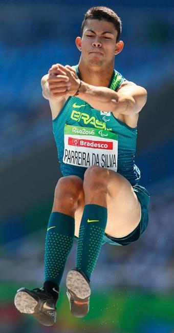 Rodrigo Parreira empatou com australiano e quebrou recorde paralímpico - Foto: Jason Cairnduff   Agência Reuters