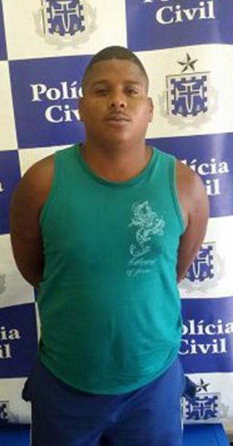 Luan Bonfim, o Tim Maia, detido no Engenho Velho - Foto: Divulgação l Polícia Civil