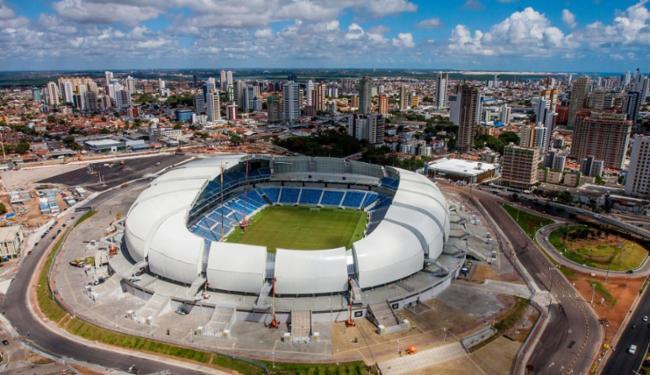 Arena das Dunas, em Natal - Foto: Jobson Galdino | Divulgação