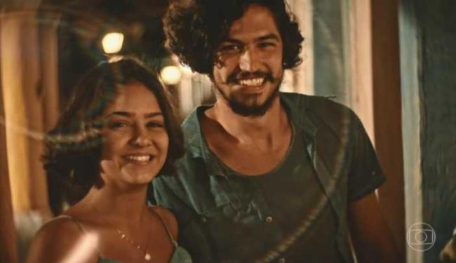 Personagens Miguel e Olivia atuando com a câmera lúdica - Foto: Reprodução   Rede Globo