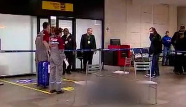 A vítima foi identificada como Marlon Roldão, de 18 anos. - Foto: Reprodução | TV Globo