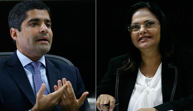 Confirmando porcentagem da pesquise Neto será reeleito no1º turno - Foto: Joá Souza | Margarida Neide | Ag. A TARDE