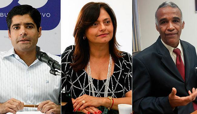 ACM Neto é seguido por Alice Portugal e Pastor Isidório nas pesquisas de intenção de votos - Foto: Agência A TARDE