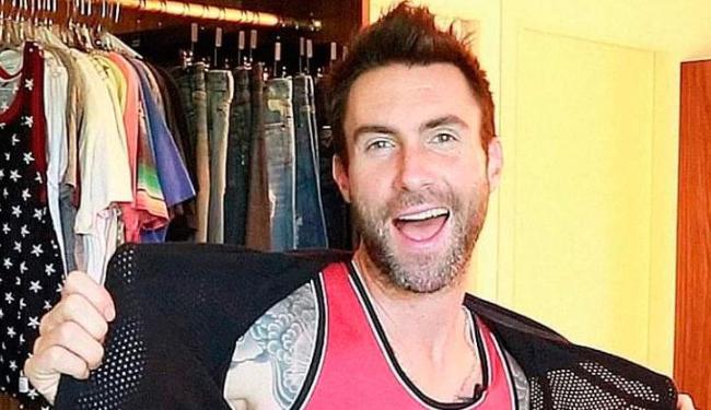 Levine ainda não fez nenhum anúncio oficial, mas já se sabia que a bebê nasceria nesta época - Foto: Reprodução   Facebook
