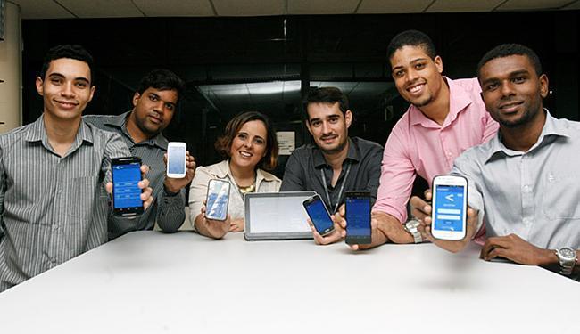Alunos da Unijorge criaram aplicativo para acompanhar rotina escolar - Foto: Adilton Venegeroles l Ag. A TARDE