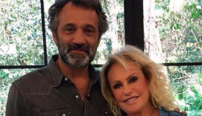 Ana Maria Braga postou foto com o ator - Foto: Reprodução