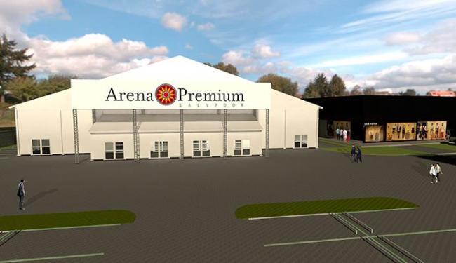 Projeto da Arena Premium Salvador vai custar R$ 5 milhões - Foto: Divulgação