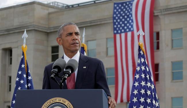 Obama durante seu discurso na cerimônia pelos 15 anos do atentado - Foto: Joshua Roberts | Reuters | 11.09.2016