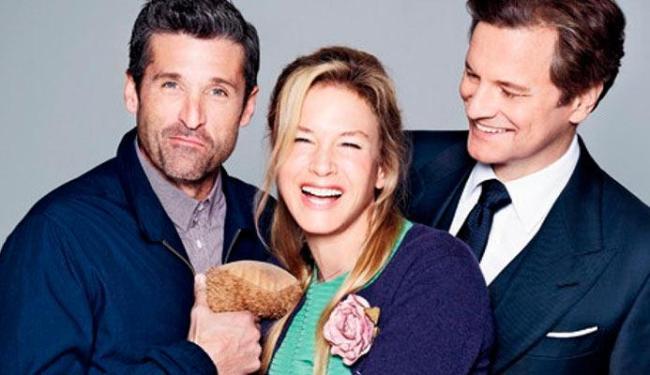 Patrick Dempsey, Renée Zellweger e Colin Firth protagonizam o longa - Foto: Divulgação