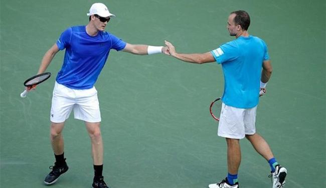 Bruno Soares e o britânico Jamie Murray venceram por 2 sets a 0, com parciais de 6/3 e 7/6 (9/7) - Foto: TenisBrasil l Arquivo