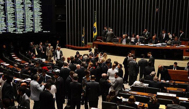 Para a sessão ser aberta, são necessários 257 deputados presentes no plenário - Foto: Fabio Rodrigues Pozzebom | Ag. Brasil