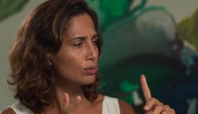 Camila acha que Domingos ficou preso na correnteza - Foto: Reprodução | TV Globo