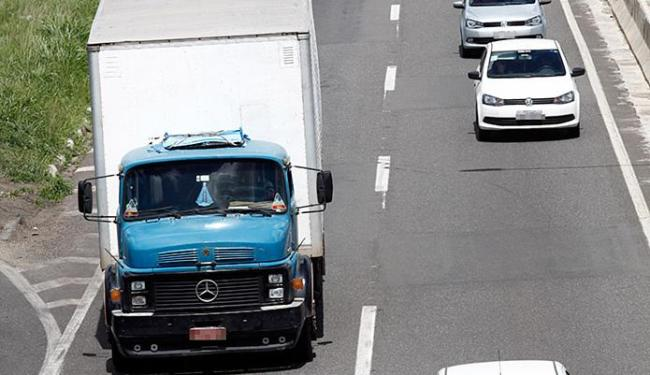 Já é a quarta vez que a SRTE-BA faz ação com o objetivo de fiscalizar a jornada dos caminhoneiros - Foto: Lúcio Távora l Ag. A TARDE