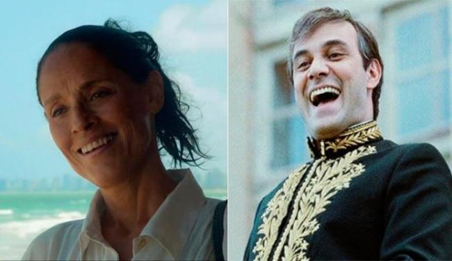 Sônia Braga e Marcos Rica protagonizam Aquarius e Chatô, respectivamente - Foto: Divulgação