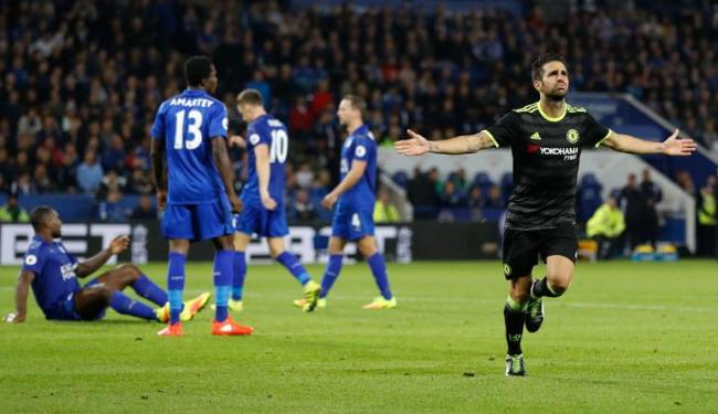Fábregas fez dois gols na prorrogação e classificou o Chelsea para as oitavas - Foto: Carl Recine | Reuters