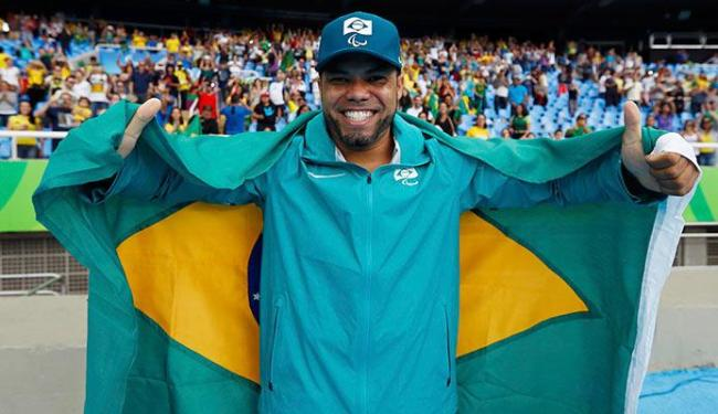 Claudiney levou o ouro, o quarto do Brasil nas Paralimpíadas - Foto: Jason Cairnduff   Divulgação