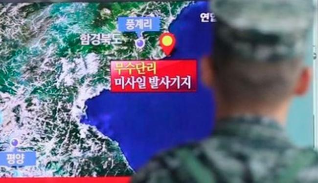 Sismólogos de todo o mundo registraram tremores de magnitude 4,8 a 5,3 na península da Coreia - Foto: Agência Reuters
